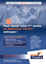 plaquette PACES 2015