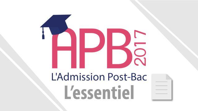 APB 2017 : formulez vos vœux jusqu'au 20 mars