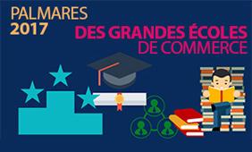 Palmarès 2017 des grandes écoles de commerce