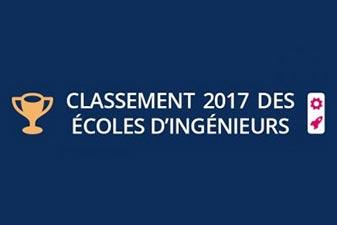 Découvrez le palmarès des écoles d'ingénieurs 2017