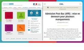 La CNIL signifie son désaccord sur le fonctionnement de l'APB