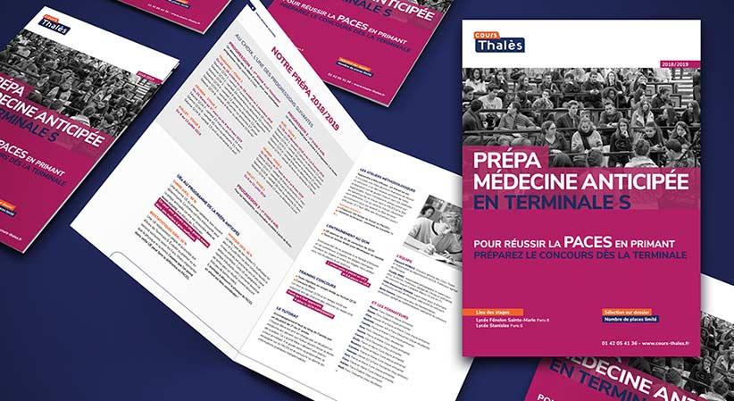 Brochure Prépa Médecine Anticipée Cours Thalès