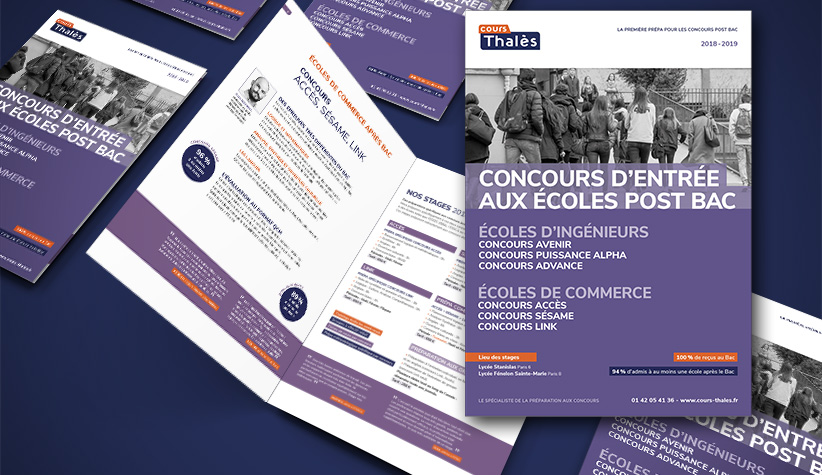 Brochure ecole ingenieur post bac