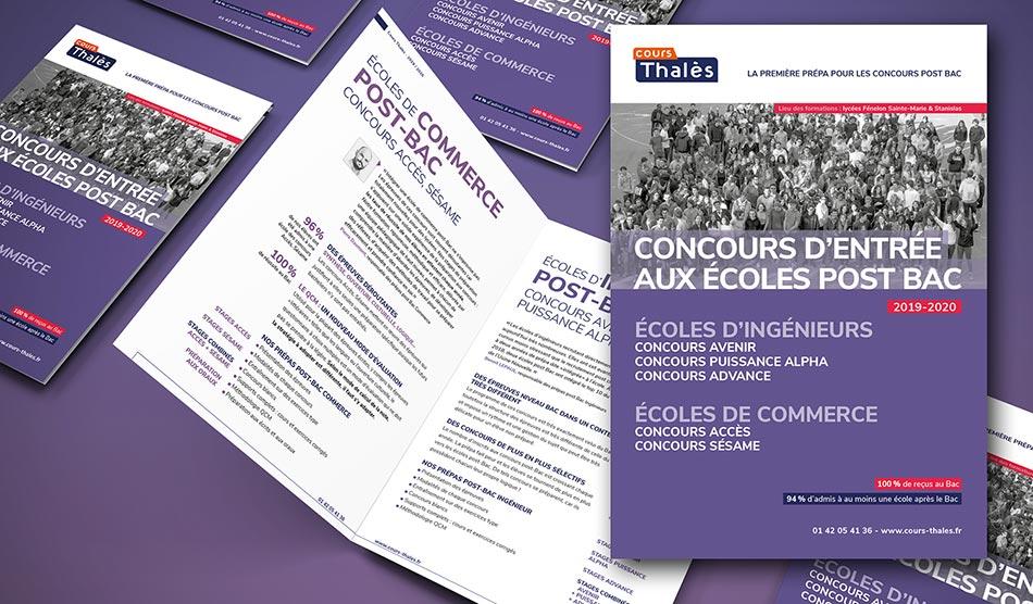 Brochure Prépa Concours des Écoles de Commerce Post-Bac Accès et Sésame