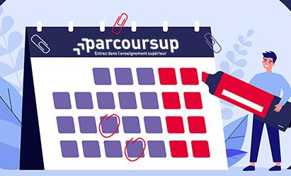 Toutes les dates de Parcoursup 2022